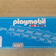 Playmobil: PLAYMOBIL 4387 VÍAS DE TREN. Lote 168940942