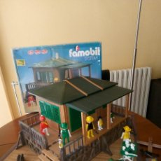 Playmobil: SAFARI FAMOBIL (NO PLAYMOBIL), AÑOS 80 (CON CAJA). Lote 169084860