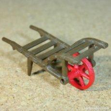 Playmobil: PLAYMOBIL CARRETILLA MEDIEVAL GRANJA OESTE WESTERN PRIMERA EPOCA KLICKY. Lote 169300216