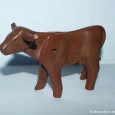 Playmobil: PLAYMOBIL MEDIEVAL ANIMAL VACA ZOO GRANJA. Lote 170124500