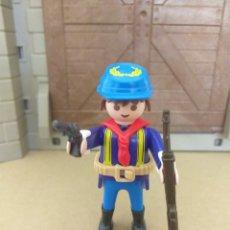 Playmobil: PLAYMOBIL SOLDADO NORDISTA FUERTE, OESTE, WESTERN. Lote 152937104