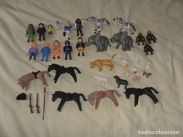 LOTE PLAYMOBIL - FIGURAS - ANIMALES -- LOTE FOTO (Juguetes - Playmobil)