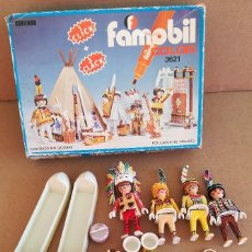 Playmobil: PLAYMOBIL FAMOBIL CAMPAMENTO INDIO REF. 3621. Lote 171368623