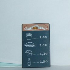 Playmobil: PLAYMOBIL MEDIEVAL CARTEL RESTAURANTE MERCADO BURGUER. Lote 171501712