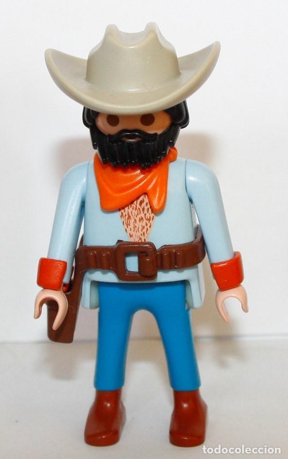 PLAYMOBIL MEDIEVAL FIGURA VAQUERO WESTERN OESTE (Juguetes - Playmobil)