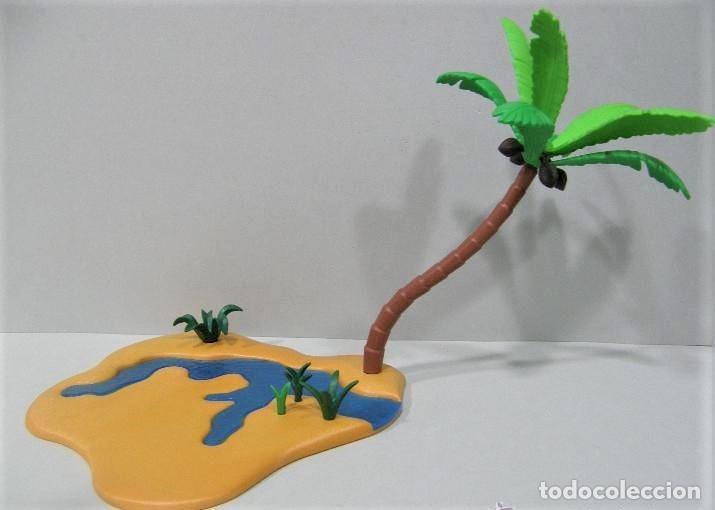 PLAYMOBIL ESCENA PALMERA RIO COCOS DESIERTO ARABES ROMANOS EGIPCIOS PLANTAS VARIOS PIEZAS (Juguetes - Playmobil)