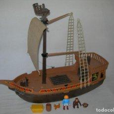Playmobil: LOTE DE PIEZAS Y ACCESORIOS DEL BARCO / GALEÓN PIRATA DE PLAYMOBIL REFERENCIA 3750. Lote 200591381