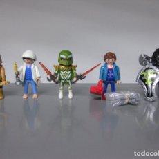 Playmobil: PLAYMOBIL LOTE GRIEGO, DORMILON, MEDIEVAL, CARPINTERO Y MEDIEVAL . Lote 171682617