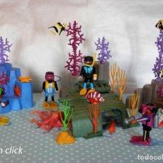 Playmobil: PLAYMOBIL FONDO DEL MAR, BUCEADORES, CORALES. Lote 171730777