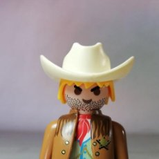 Playmobil: PLAYMOBIL FIGURA SHERIFF VAQUERO OESTE WESTERN (ZCETA). Lote 171795287