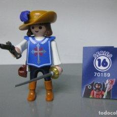 Playmobil: PLAYMOBIL SERIE 16 AZUL CHICOS SOBRE SORPRESA MOSQUETERO ESPADACHIN REF 70159 SOBRES. Lote 171823977