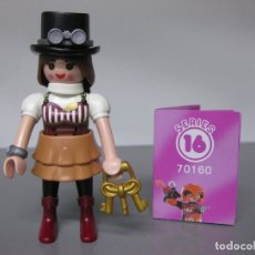 Playmobil: PLAYMOBIL SERIE 16 ROSA SOBRE SORPRESA STEAM PUNK REF 70160 SOBRES. Lote 171824348