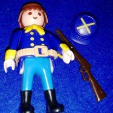Playmobil: PLAYMOBIL --- SOLDADO (CON ACCESORIOS) FUERTE OESTE DIORAMAS --- PEDIDO MÍNIMO PLAYMOBIL 5€ - BOX1. Lote 172115295