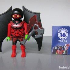Playmobil: PLAYMOBIL SERIE 16 AZUL CHICOS SOBRE SORPRESA DEMONIO DEL INFIERNO PRIMO SPIDERMAN REF 70159 SOBRES. Lote 172115485