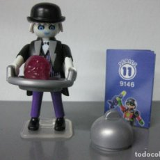 Playmobil: PLAYMOBIL SERIE 11 AZUL SOBRE SORPRESA MAYORDOMO FANTASMA REF 9146 SOBRES. Lote 172115489