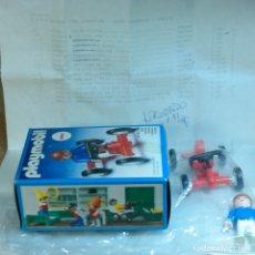 Playmobil: PLAYMOBIL REF. 3358, COMPLETO CON CAJA DE MUESTRA DE FABRICA, NIÑO CON KART KARTING AUTO CARRERA. Lote 172662815
