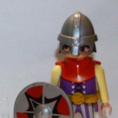 Playmobil: PLAYMOBIL MEDIEVAL FIGURA VIKINGO BARCO GUERRERO BARBARO. Lote 172692365