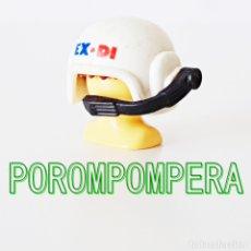 Playmobil: PLAYMOBIL CASCO BLANCO CON MICRÓFONO 3192 EXPEDICIÓN DINOSAURIOS RESCATE. Lote 172776918