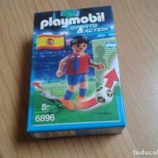 Playmobil: PLAYMOBIL - 6896 - SPORTS & ACTION - FÚTBOL ESPAÑA - SELECCIÓN ESPAÑOLA - CAJA SIN ABRIR - IMPECABLE. Lote 173139914