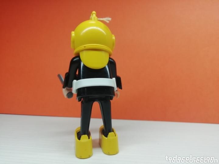 Playmobil: Playmobil.. Ref-3348...Antiguo Buzo Amarillo... - Foto 2 - 173157529