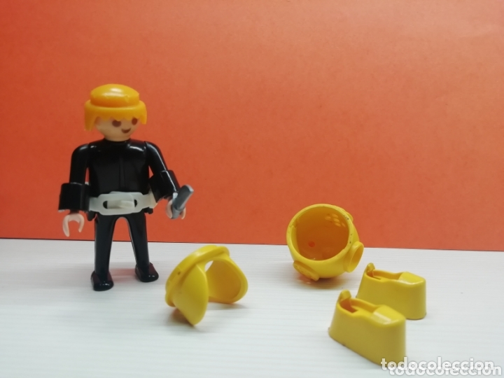 Playmobil: Playmobil.. Ref-3348...Antiguo Buzo Amarillo... - Foto 4 - 173157529