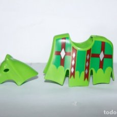 Playmobil: PLAYMOBIL MEDIEVAL FALDÓN GUALDRAPA CABALLO TORNEO. Lote 173277955
