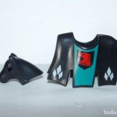 Playmobil: PLAYMOBIL MEDIEVAL FALDÓN GUALDRAPA CABALLO TORNEO. Lote 173277973