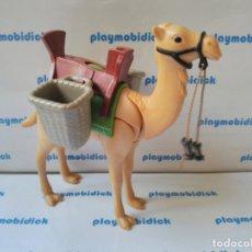 Playmobil: PLAYMOBIL CAMELLO CON CESTAS BELEN ARABE EGIPTO. Lote 173327332