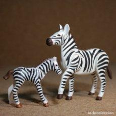 Playmobil: PLAYMOBIL CEBRA CON CRIA, ANIMALES SAFARI SELVA DESIERTO ZOO. Lote 205872981