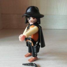 Playmobil: PLAYMOBIL, LOTE, CUSTOM, OESTE, WESTERN, BANDIDO, REF 4576, OFICIAL, VAQUEROS, INDIOS.. Lote 189439947