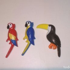 Playmobil: PLAYMOBIL ANIMALES LORO LOROS TUCÁN ZOO. Lote 173586714