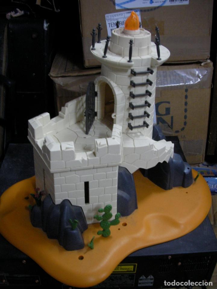 TORRE CASTILLO FARO CON BASE PLAYMOBIL (Juguetes - Playmobil)