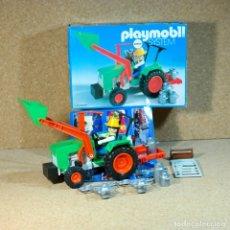 Playmobil: PLAYMOBIL GRANJA GRANJERO CON TRACTOR 3500 CON CAJA VINTAGE KLICKY PRIMERA ÉPOCA. Lote 173682957
