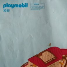 Playmobil: MANUAL EL ARCA DE NOE NOAH - PLAYMOBIL 3255 -. Lote 173795167