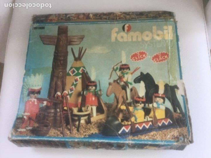 Playmobil: Famobil playmobil 5 indios tipi totem ref. 3483 - Foto 10 - 173866395