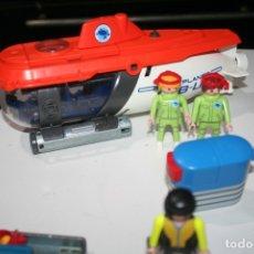 Playmobil: SUBMARINO TIBURON PILOTO MUÑECOS MUÑECO PLAYMOBIL . Lote 173928310