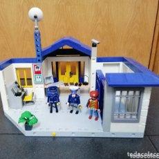 Playmobil: PLAYMOBIL 3165 COMISARÍA POLICÍA CIUDAD CÁRCEL PIEZAS SYSTEM X FIGURAS LADRÓN. Lote 174012448