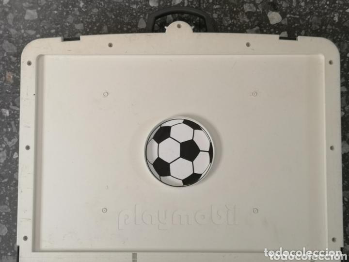 Playmobil: Campo de fútbol Playmobil. 4 jugadores. - Foto 6 - 174149264