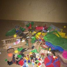 Playmobil: LOTE DE JUGUETES ANTIGUOS PLAYMOBIL!1970-1980-1990. Lote 174262518
