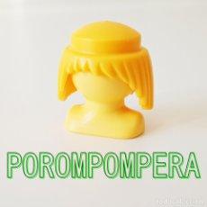 Playmobil: PLAYMOBIL PELUCA AMARILLA PELO LARGO RUBIO CAMPESINO VIKINGO CABALLERO MEDIEVAL GUERRERO . Lote 174374722