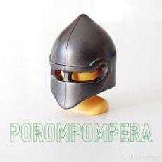 Playmobil: PLAYMOBIL CASCO GRIS OSCURO CABALLERO MEDIEVAL DRAGÓN SOLDADO ASALTO CASTILLO JUSTA COMBATE CC1 . Lote 174377713