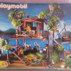 Playmobil: CASA EN LA SELVA REF.3217 CON SU CAJA. Lote 175474819