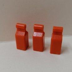 Playmobil: PLAYMOBIL 3 BOTELLAS ZUMO PAQUETES COMIDA TIENDA MERCADO COCINA SUPERMERCADO CASA. Lote 175552367