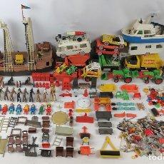 Playmobil: GRAN LOTE DE FAMOBIL. 11 CLICS DE FAMOBIL Y ACCESORIOS. PRIMERA GENERACIÓN. CIRCA 1970.. Lote 175665908