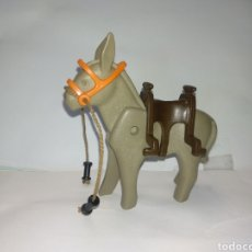 Playmobil: PLAYMOBIL ANTIGUO BURRO MINEROS SACOS ORO MINA OESTE WESTERN VAQUEROS INDIOS PIEZAS ANIMALES ZOO. Lote 175758139