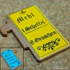 Playmobil: PLAYMOBIL CARTEL DE PANADERÍA, MEDIEVAL TIENDA MERCADO 3441 6219. Lote 175874519