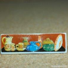 Playmobil: PLAYMOBIL CARTEL DE ALFARERÍA, TIENDA MEDIEVAL MERCADO 3455. Lote 175874584