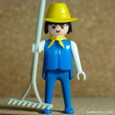 Playmobil: PLAYMOBIL GRANJERO, FIGURA KLICKY GRANJA TRACTOR 3500. Lote 176148205