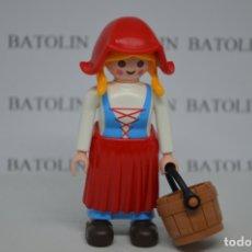 Playmobil: PLAYMOBIL FIGURAS MUJER GRANJERA MEDIEVAL. Lote 184507720