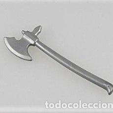 Playmobil: PLAYMOBIL ARMA HACHA GRANDE MEDIEVAL CABALLEROS BARBAROS VIKINGO VERDUGO. Lote 176442087